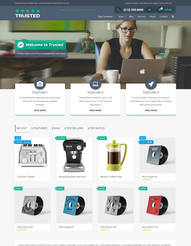 Trusted WordPress theme